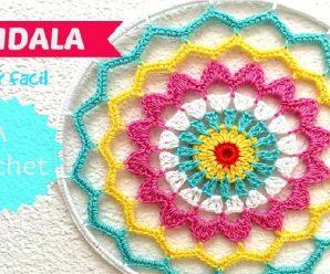 Cómo TEJER una mandala o ATRAPASUEÑO a Crochet