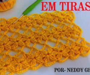 Aprende a Tejer Punto ESTRELLAS a Crochet