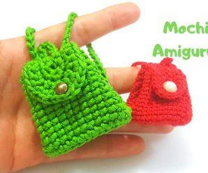 Como tejer esta Hermosa Mochilita o MONEDERO A Crochet