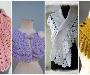 Te enseñamos a Tejer Preciosas Bufandas A Crochet Superfacil