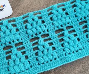 Chaleco Puntada Racimo de Uva, modelo de Rebeca a Crochet