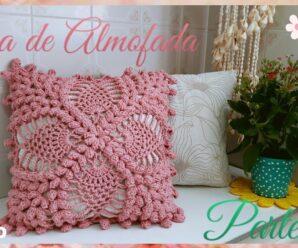 Como tejer Hermosa Funda de almohada a Crochet