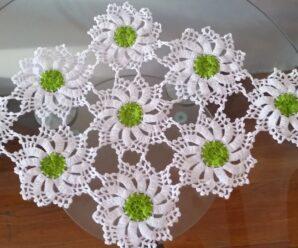 Como Tejer Precioso CENTRO DE MESA a Crochet Paso a paso