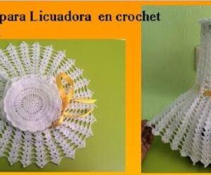 Hermoso Cubre Licuadora a Crochet Superfacil + Patrones