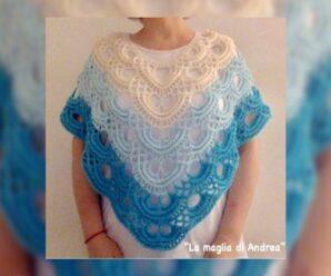 Como Tejer Hermoso PONCHO JAPONES a Crochet