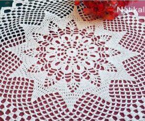 Como tejer Precioso TAPETE A CROCHET Tutorial Completo