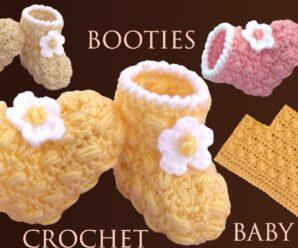 Aprende a Tejer Zapatos para bebes crochet paso a paso