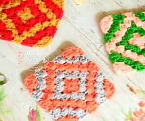 (Grannys combinados) Técnicas , Crochet SUPERFACIL DE TEJER