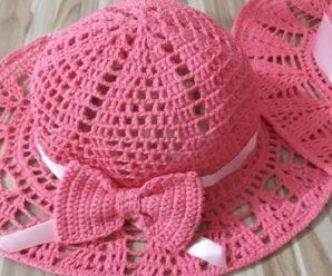 Te enseñamos a Tejer Estos Sombreros PRECIOSOS PASO A PASO